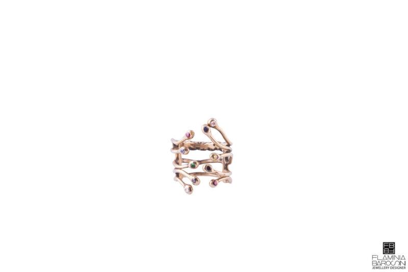 Anello medium genesis zirconi